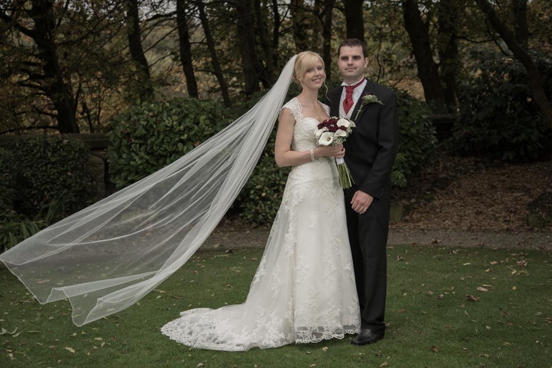 Adrian and Elizabeth at Woodlands Hotel, Leeds 5