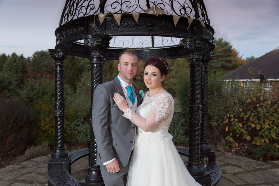 Chris and Natasha at the Mercure Parkway Hotel, Leeds 3