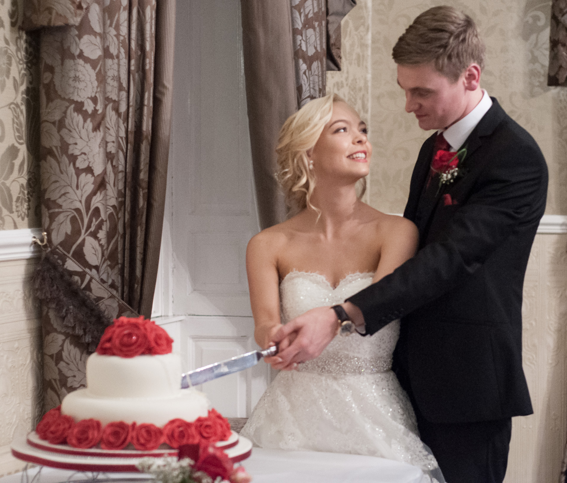 Dean and Jemma's ceremony at Waterton Park Hotel 7