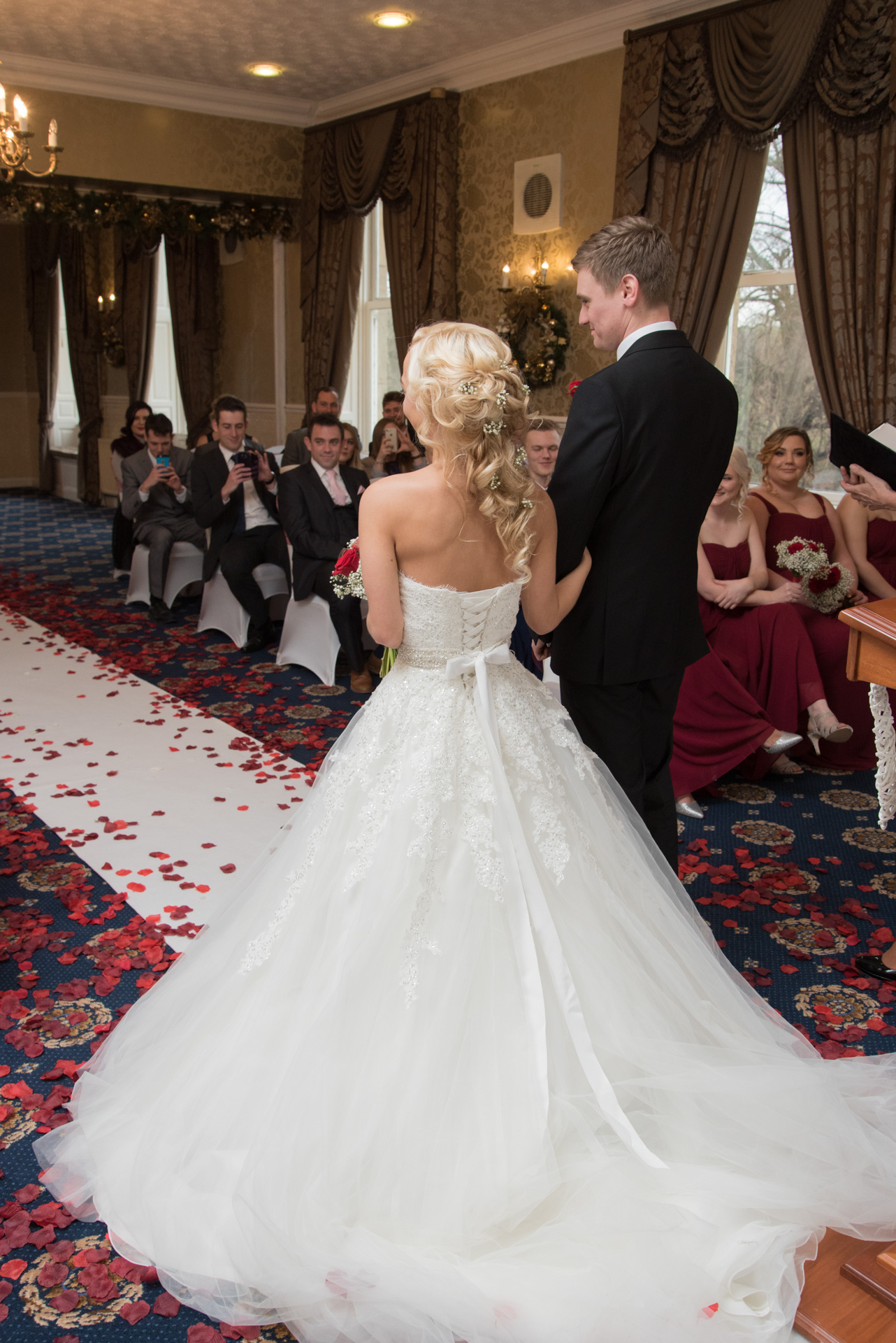 Dean and Jemma's ceremony at Waterton Park Hotel 4