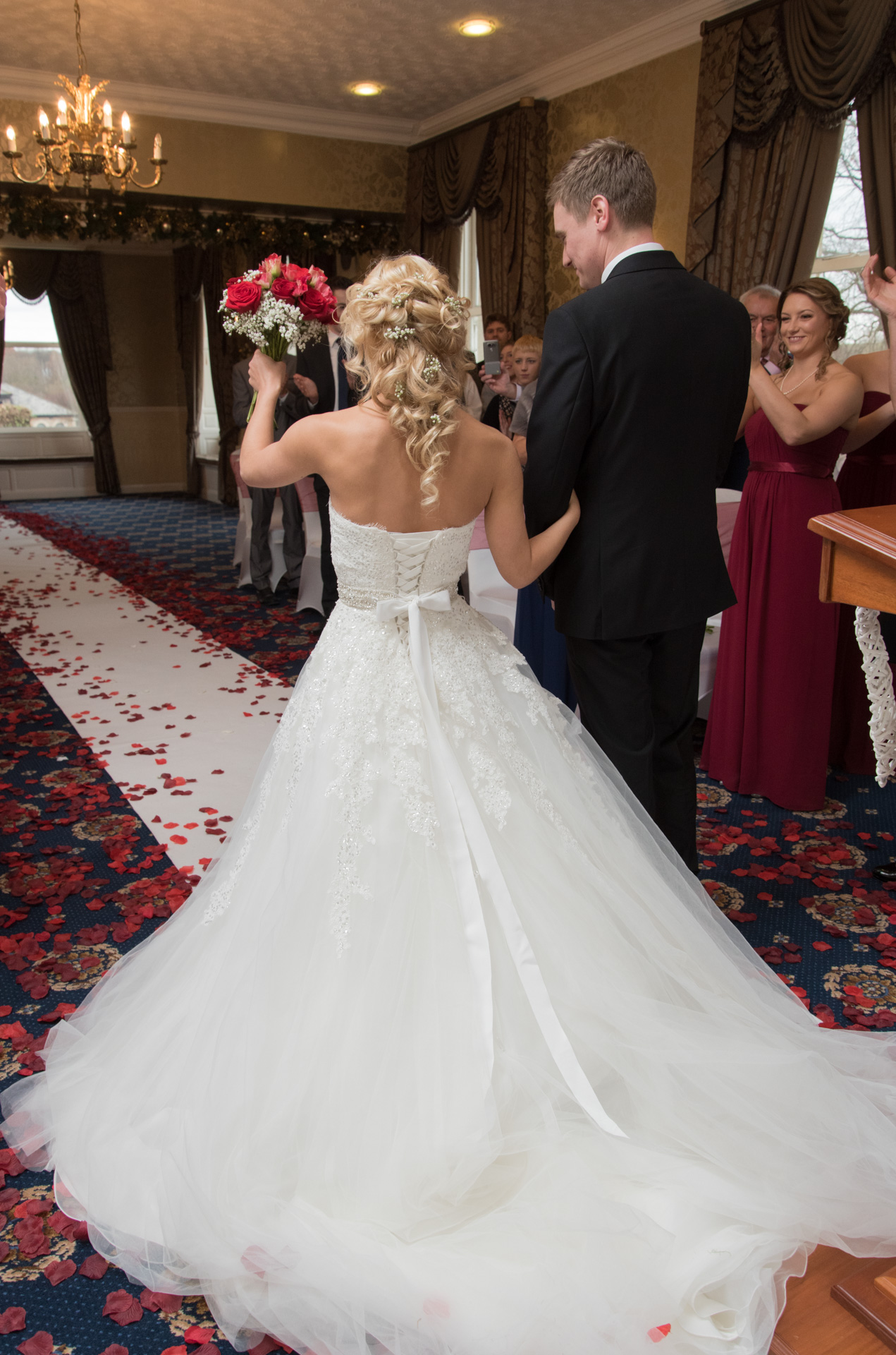 Dean and Jemma's ceremony at Waterton Park Hotel 3