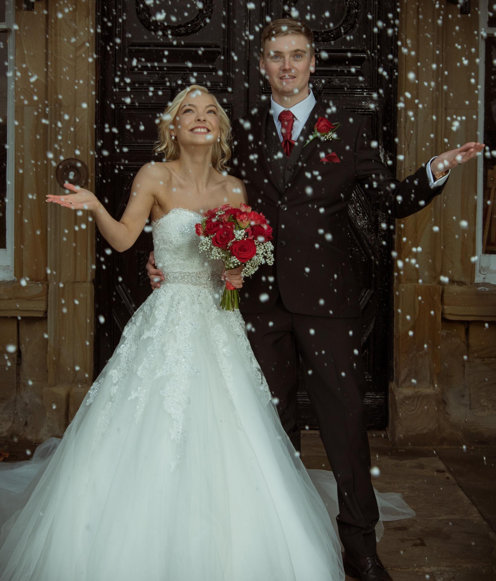 Dean& Jemma at Walton Hall, Waterton Park Hotel 1