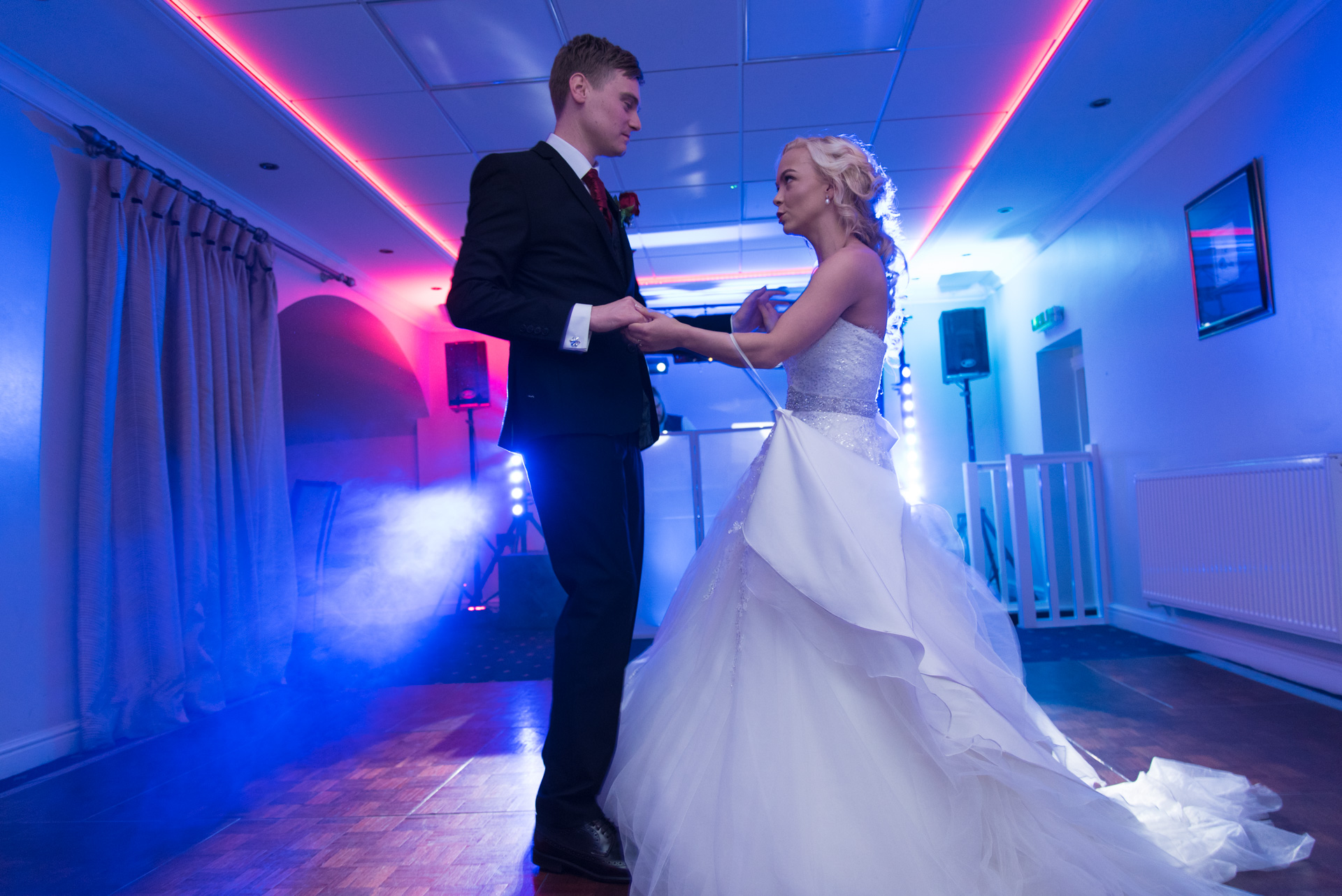 Ceilidh dancing at a wedding near Perth 5
