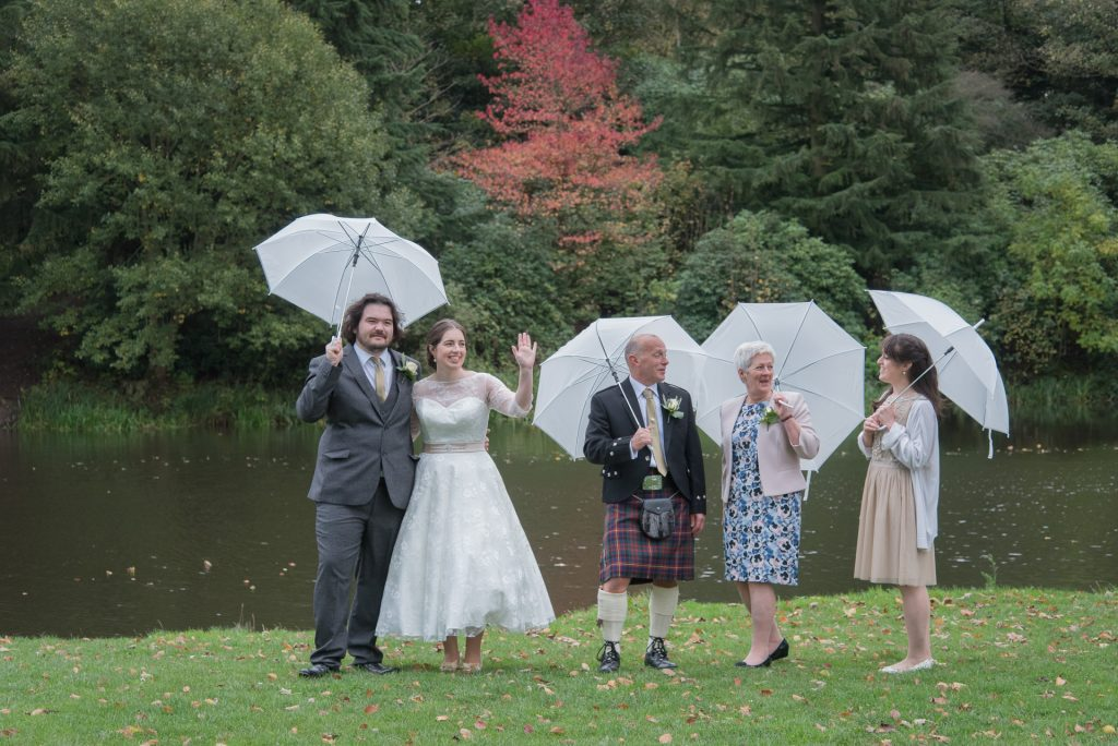 Wedding group at Temple Newsham - James and Morag 3