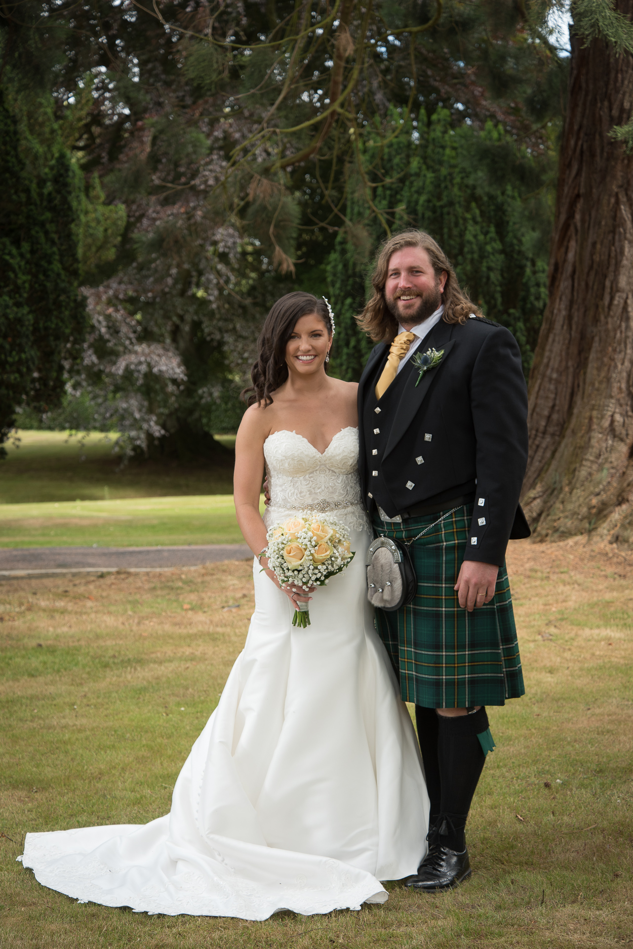 Paul and Meghan at Huntingtower Hotel Perth, the Bride and Bridesmaids 3