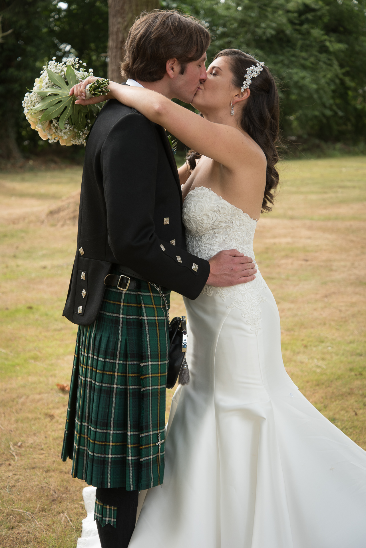 Paul and Meghan at Huntingtower Hotel Perth, the Bride and Bridesmaids 4