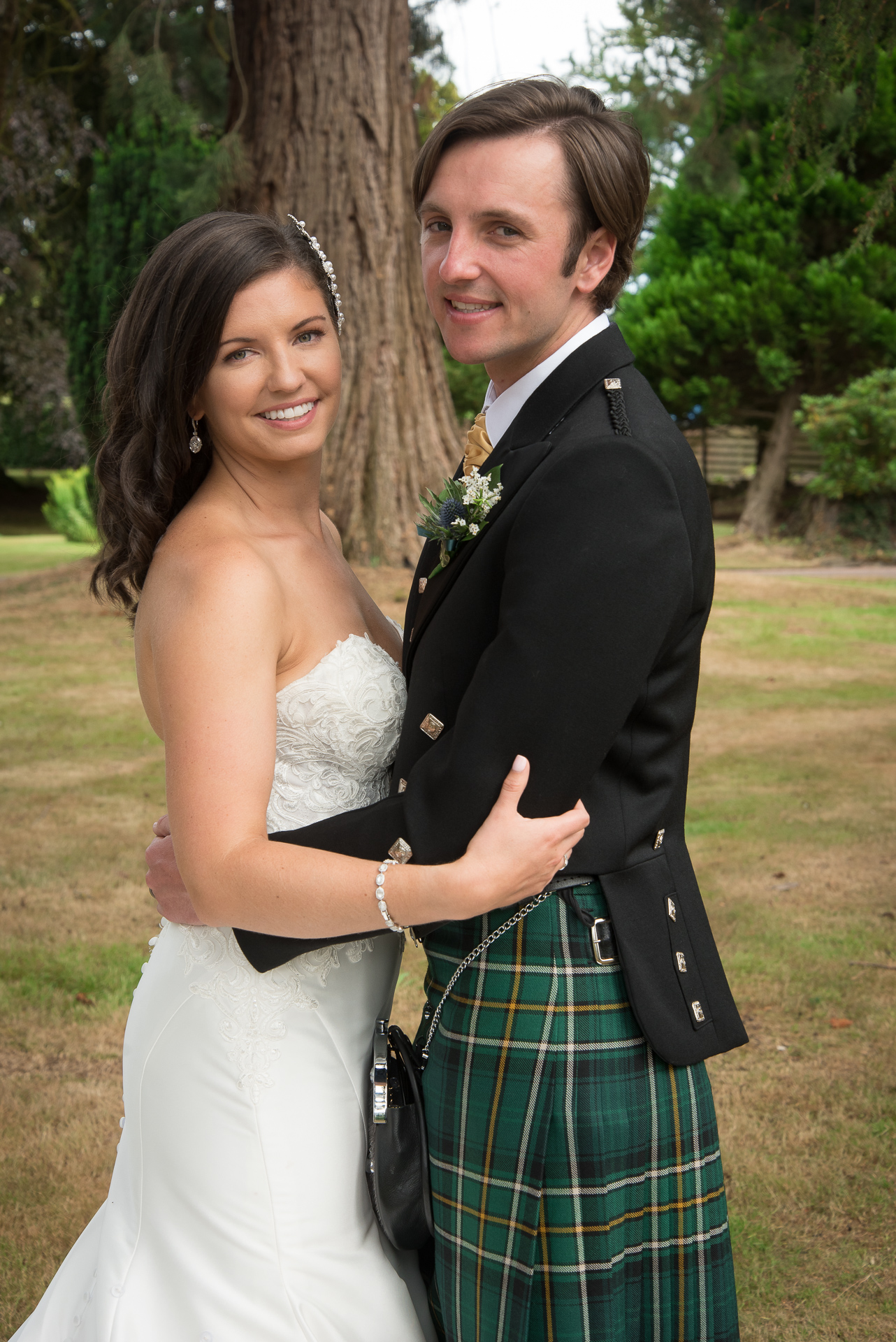 Paul and Meghan at Huntingtower Hotel Perth, the Bride and Bridesmaids 6