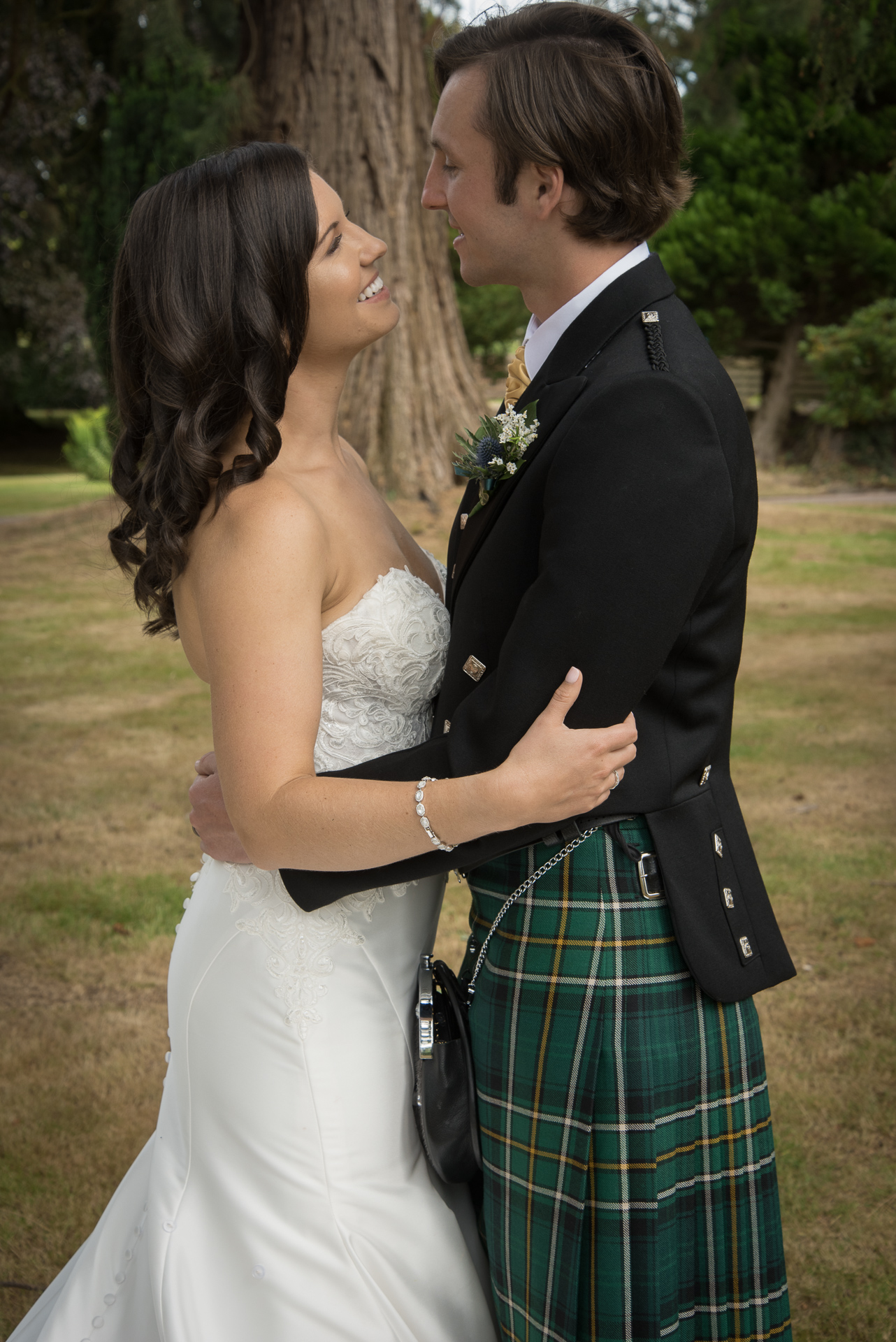 Paul and Meghan at Huntingtower Hotel Perth, the Bride and Bridesmaids 7