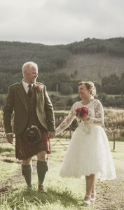 Scott and Denise at East Haugh, Pitlochry 2