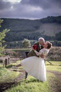 Scott and Denise at East Haugh, Pitlochry 1