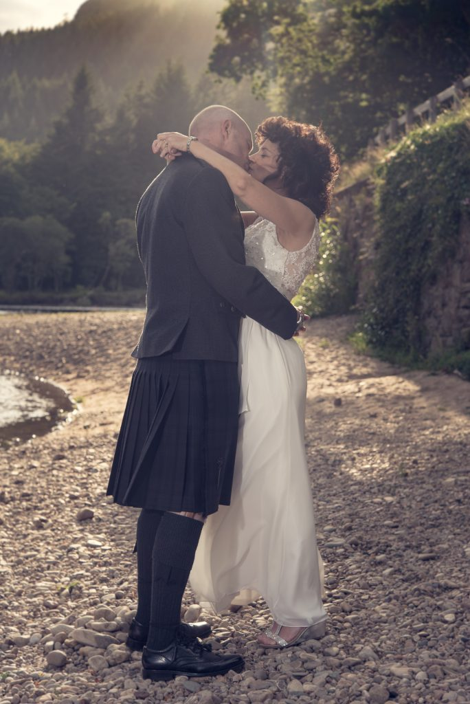 Mark and Kelly at DunKeld House Hotel 4