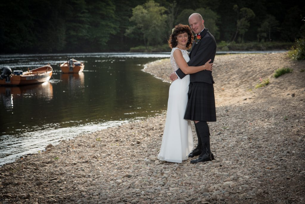 Mark and Kelly at DunKeld House Hotel 7