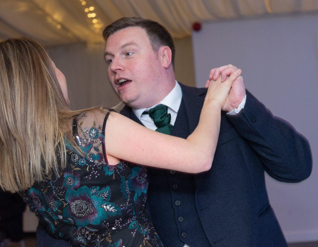 Lotta laughs, fun and dancing - Stephen & Reva at Dunkeld House Hotel 8