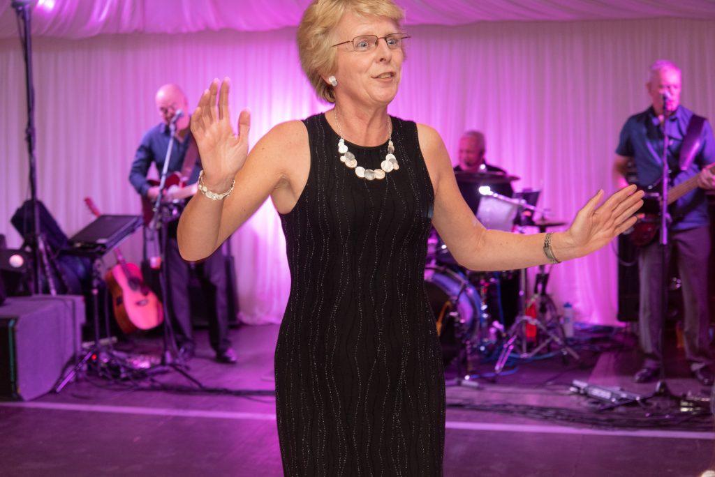 Lotta laughs, fun and dancing - Stephen & Reva at Dunkeld House Hotel 9