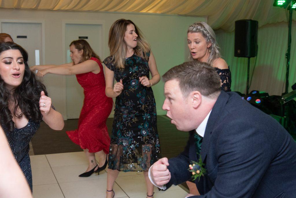 Lotta laughs, fun and dancing - Stephen & Reva at Dunkeld House Hotel 11