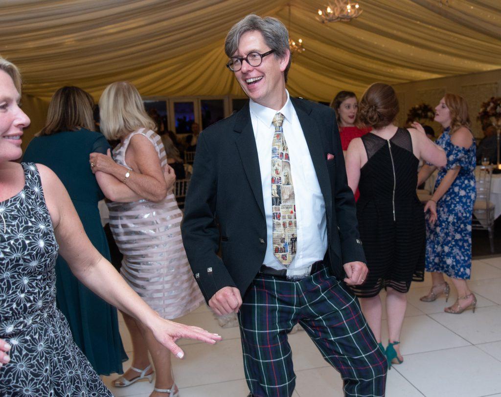 Lotta laughs, fun and dancing - Stephen & Reva at Dunkeld House Hotel 14