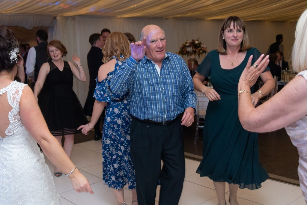 Lotta laughs, fun and dancing - Stephen & Reva at Dunkeld House Hotel 16