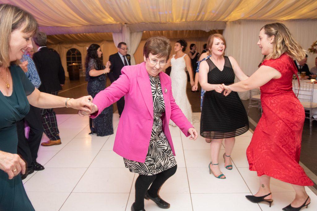 Lotta laughs, fun and dancing - Stephen & Reva at Dunkeld House Hotel 17
