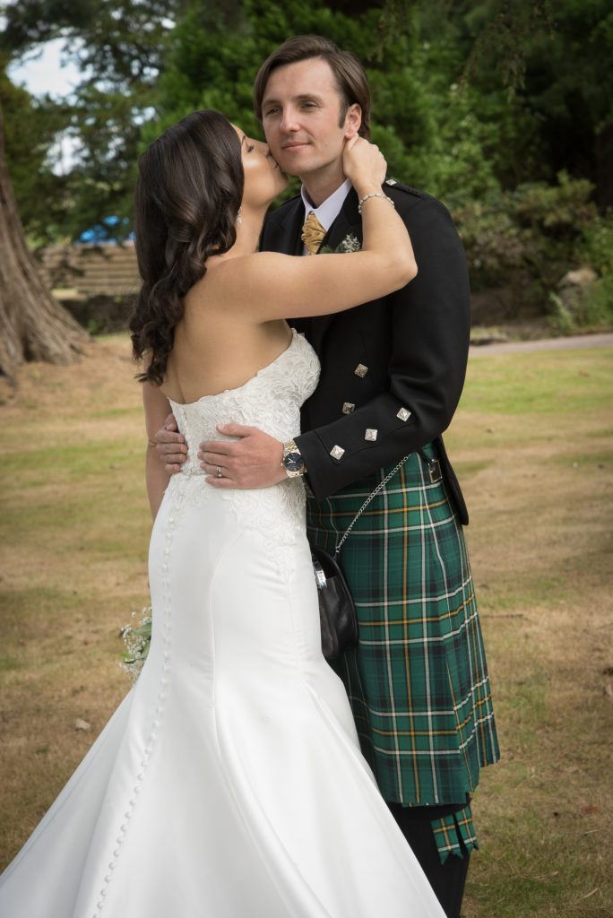 Paul and Meghan at Huntingtower Hotel, Perth 3