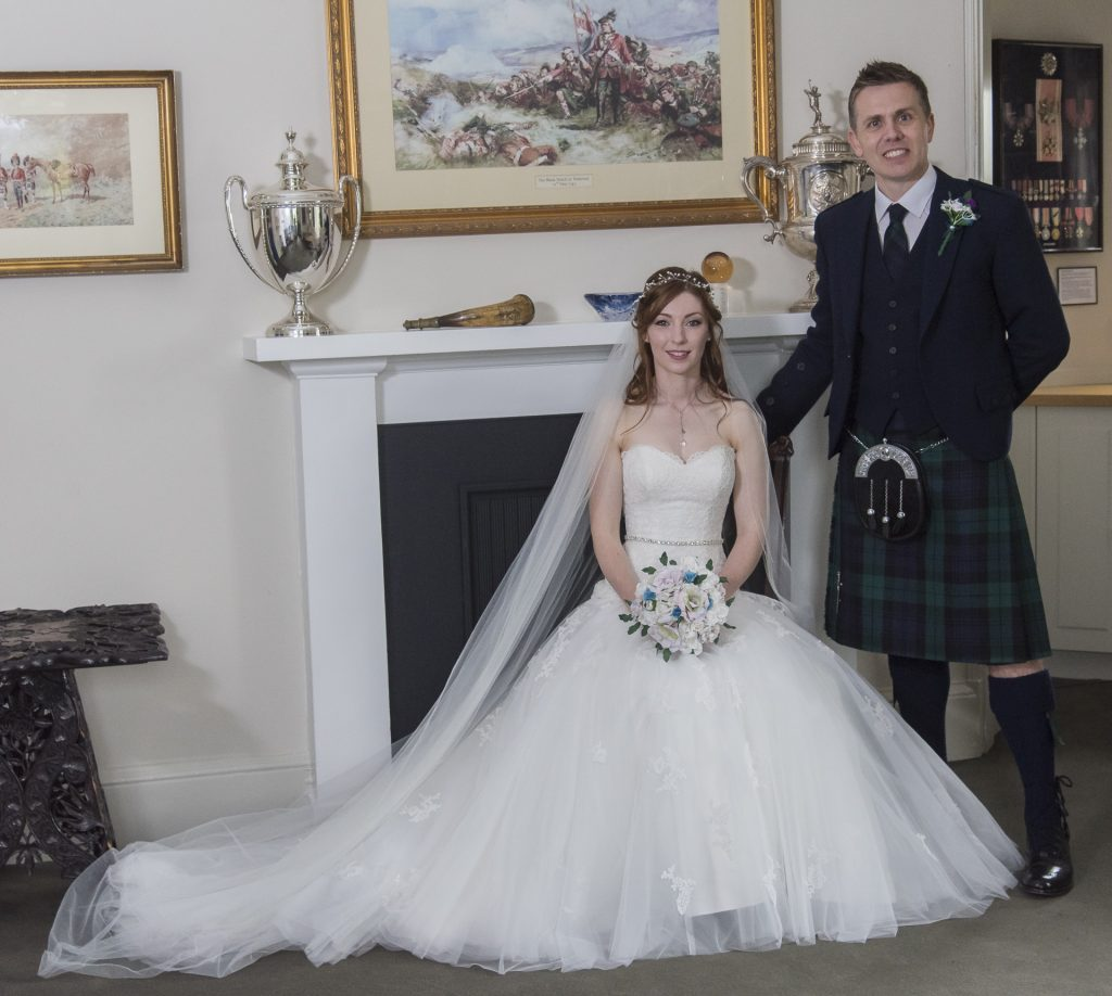 Andrew and Rachel at the Black Watch and Mercure Hotel 9