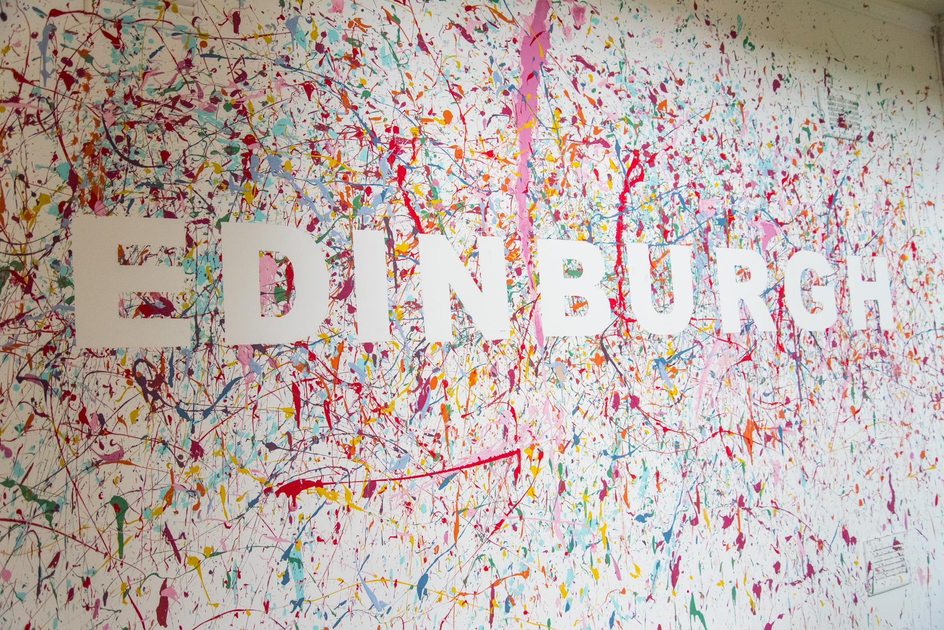 Dmitriy & Julia in Edinburgh