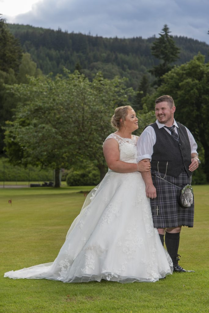 Greig and Pauline at Dunkeld House Hotel 6