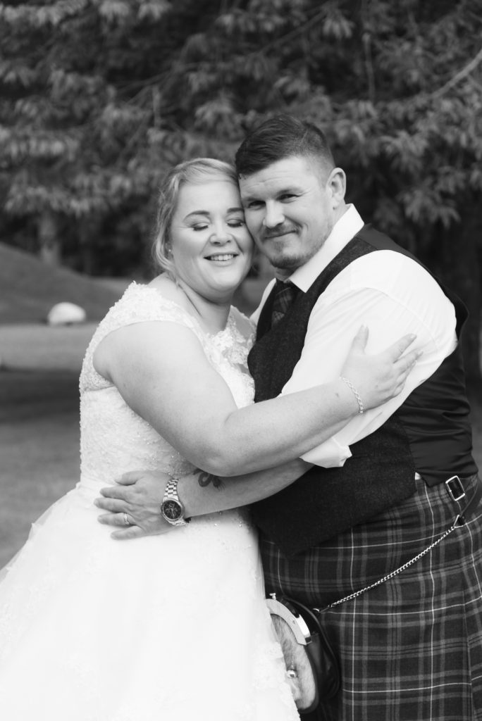 Greig and Pauline at Dunkeld House Hotel 7