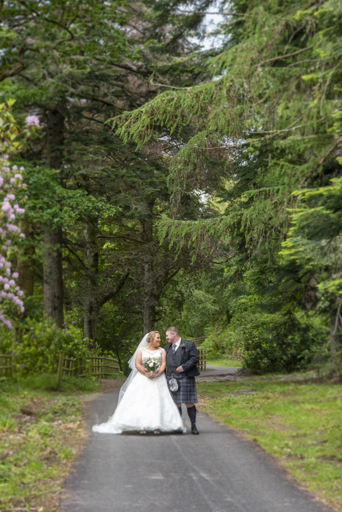 Greig and Pauline at Dunkeld House Hotel 3