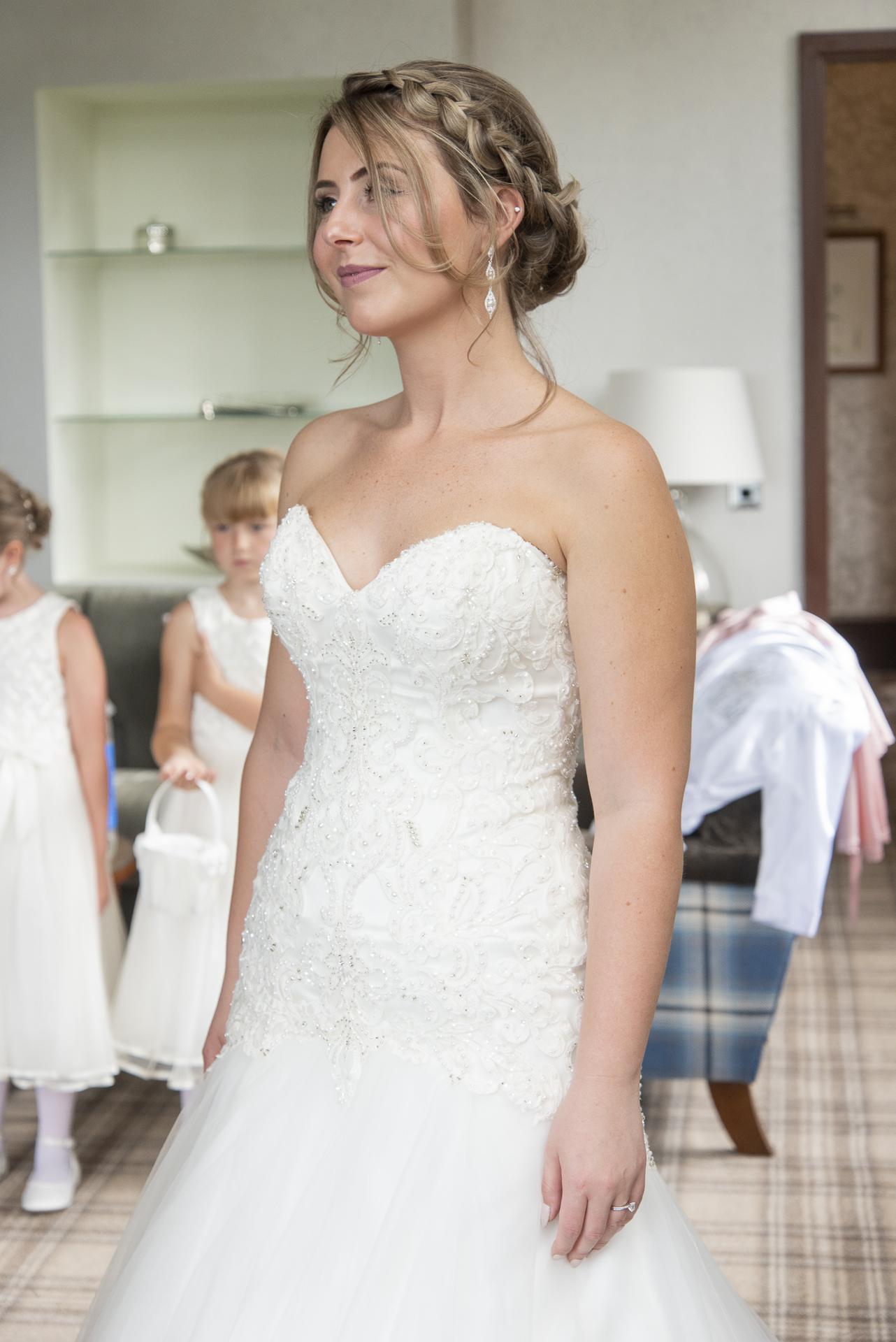 kellie's wedding dress- murrayshall