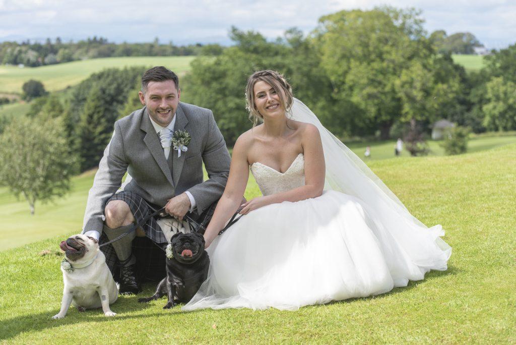 Dogs welcome - Daniel & Kellie, Murrayshall 2