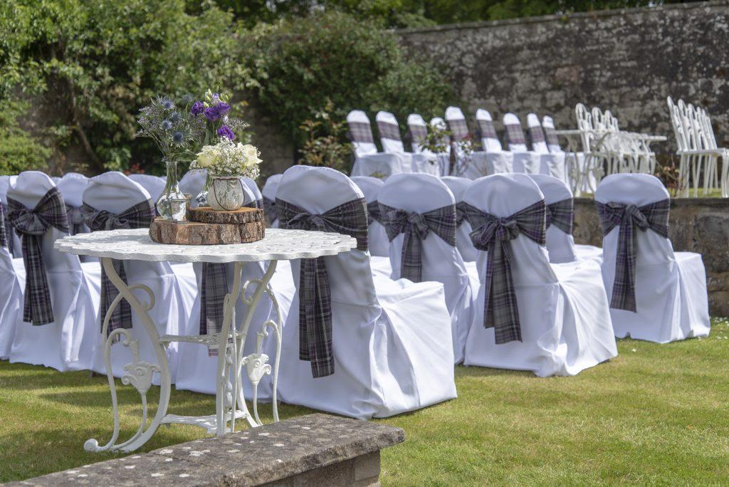 Murrayshall ceremony garden