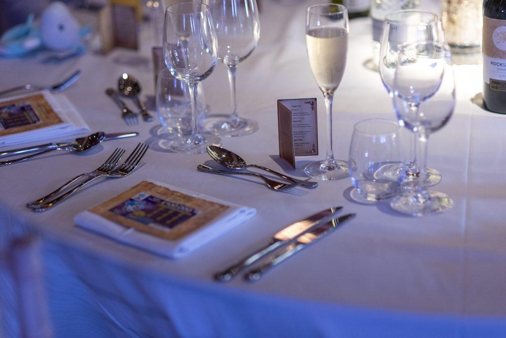 Wedding table setting 14