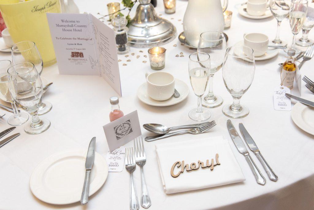 Wedding table settings plan 8