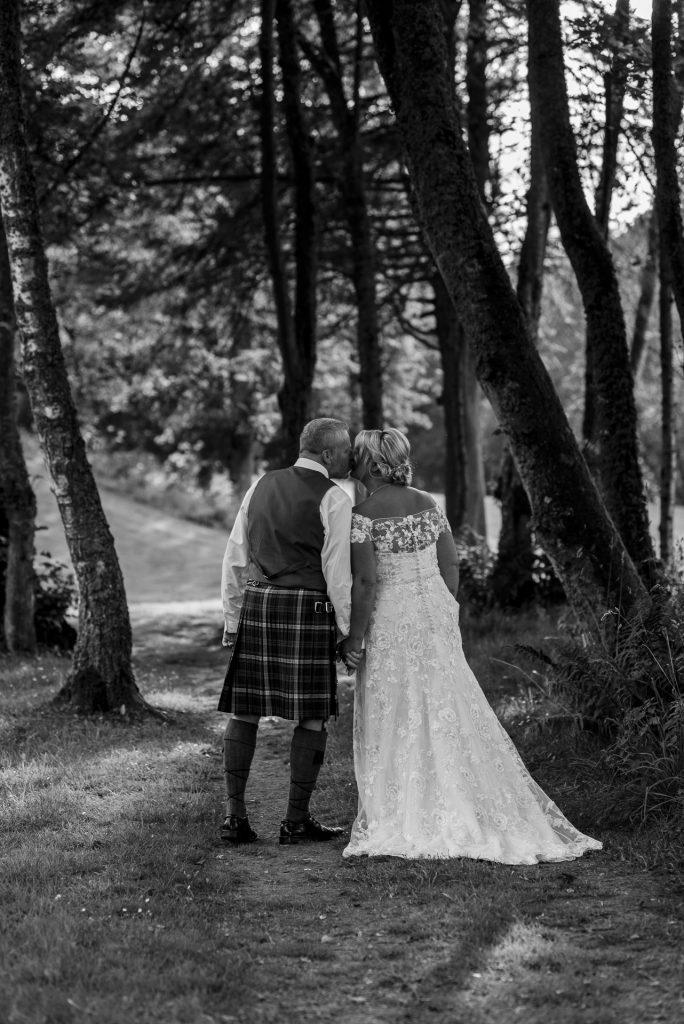 A wedding walk through the woods 3