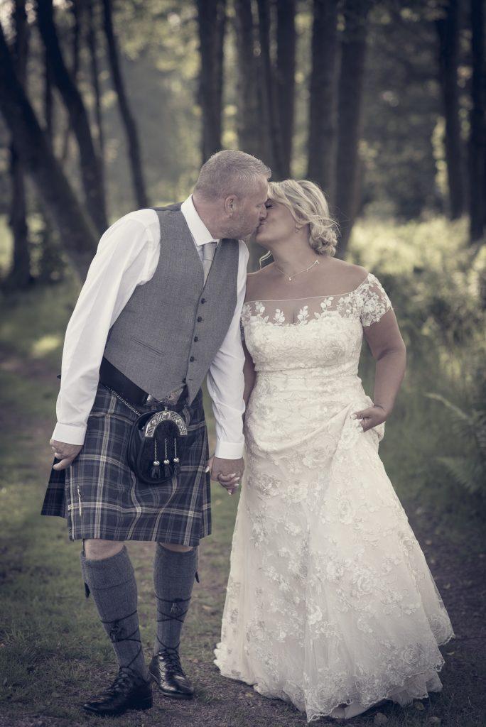 A wedding walk through the woods 1