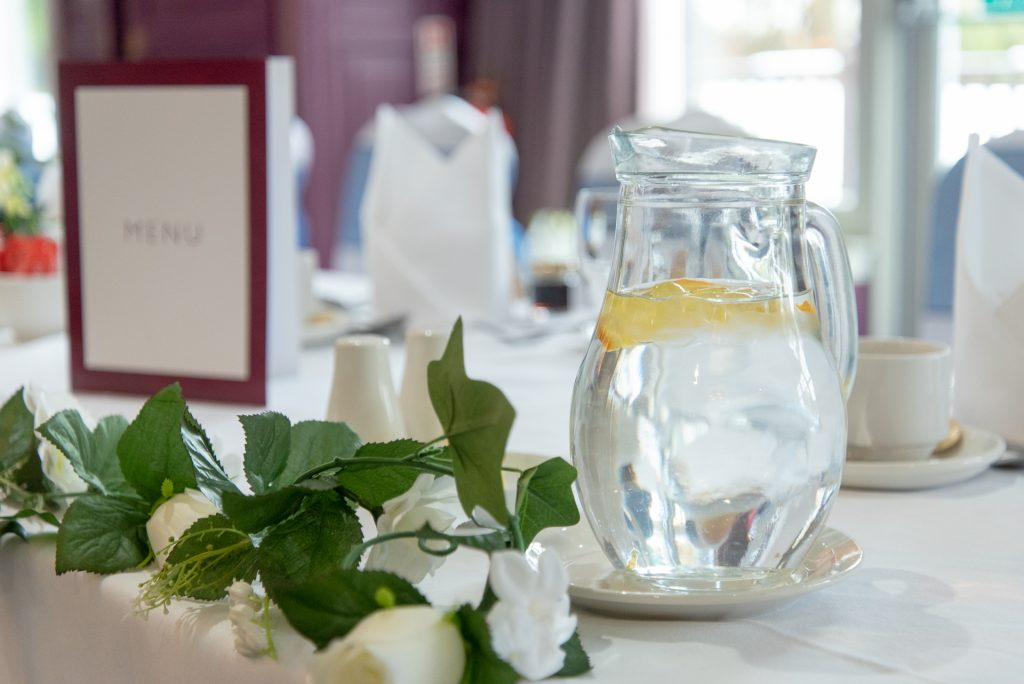 Wedding table setting 17