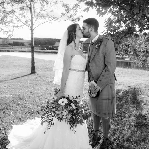 Jonny and Lucy at Bachilton Barn