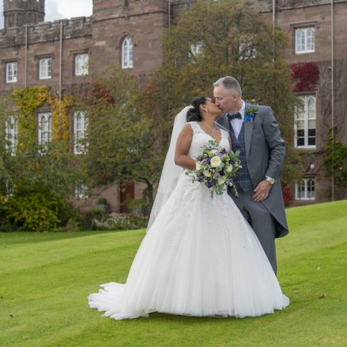 Andrew & Asha at Scone Palace 1