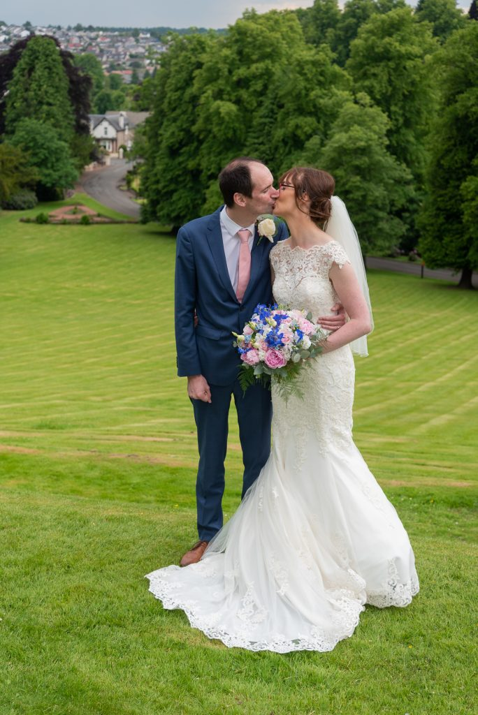 Andrew and Alana at Dunblane Hydro 7