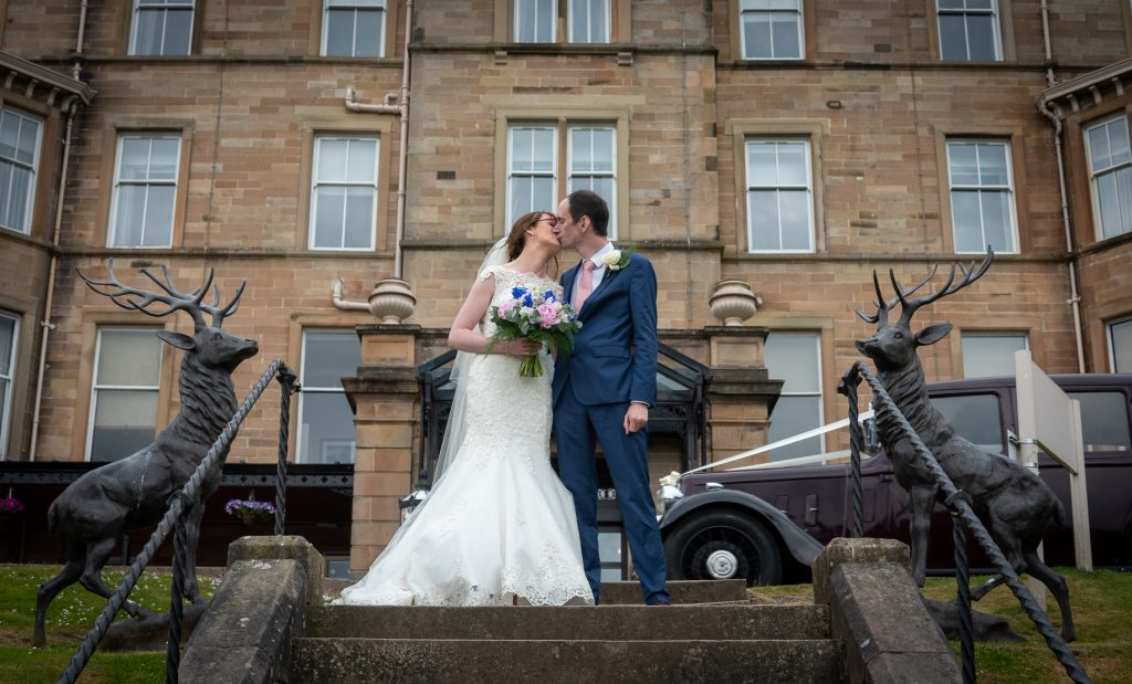 Andrew and Alana at Dunblane Hydro 8