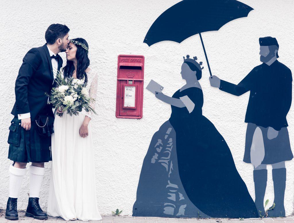 A Highland wedding - Tom & Sarah 5