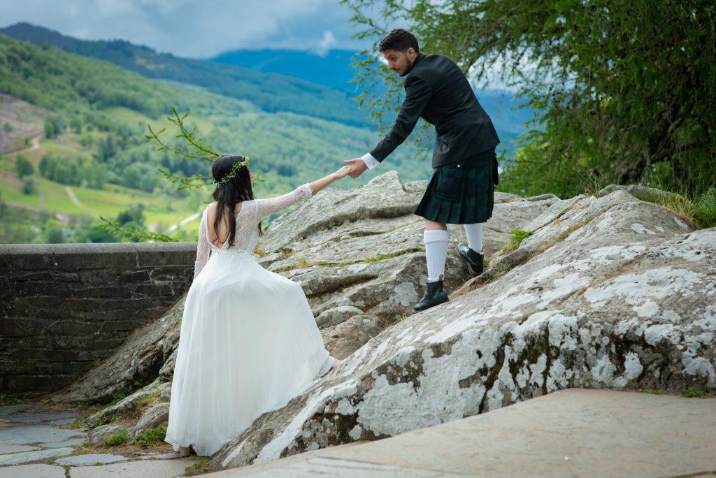 A Highland wedding - Tom & Sarah 6