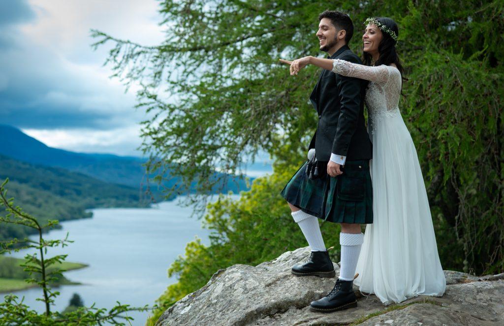 A Highland wedding - Tom & Sarah 9
