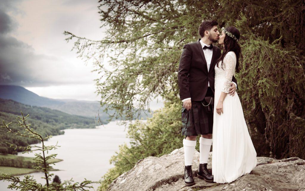 A Highland wedding - Tom & Sarah 11