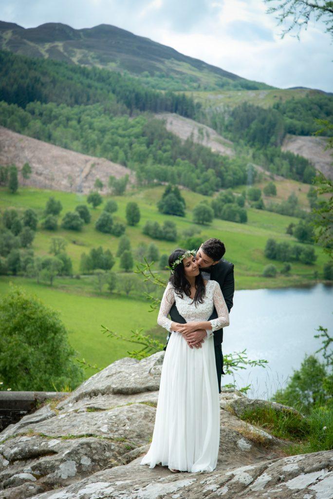 A Highland wedding - Tom & Sarah 7