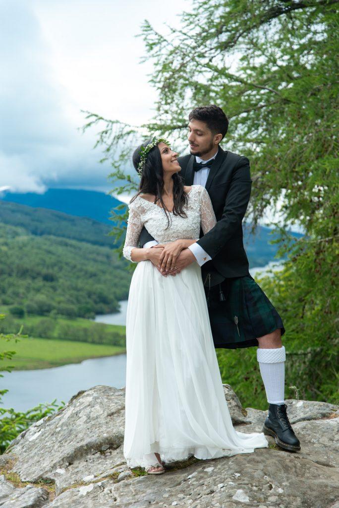 A Highland wedding - Tom & Sarah 8