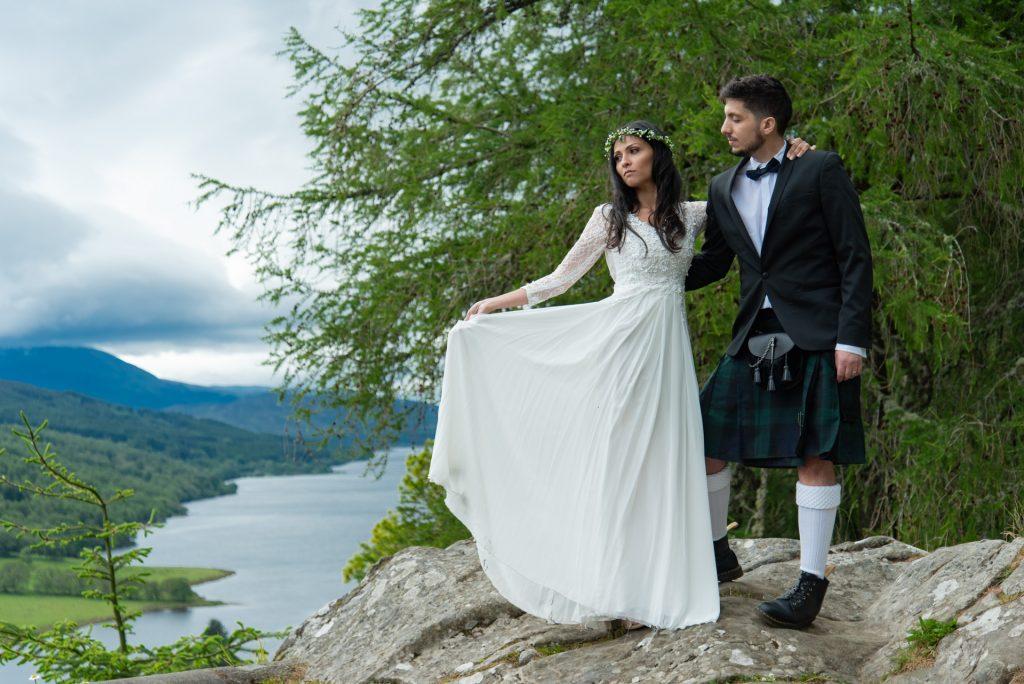 A Highland wedding - Tom & Sarah 10