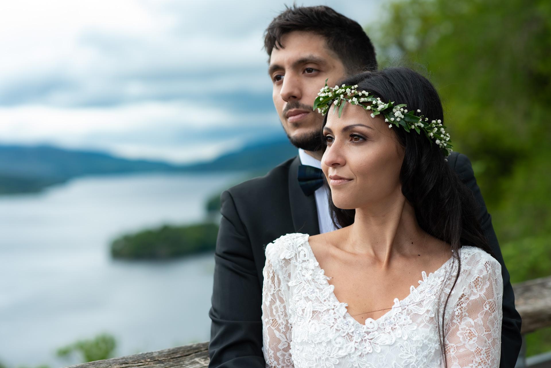 A Highland wedding - Tom & Sarah 1