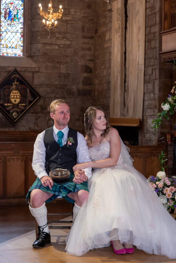 Wedding Ceremony at St Johns Kirk, Perth