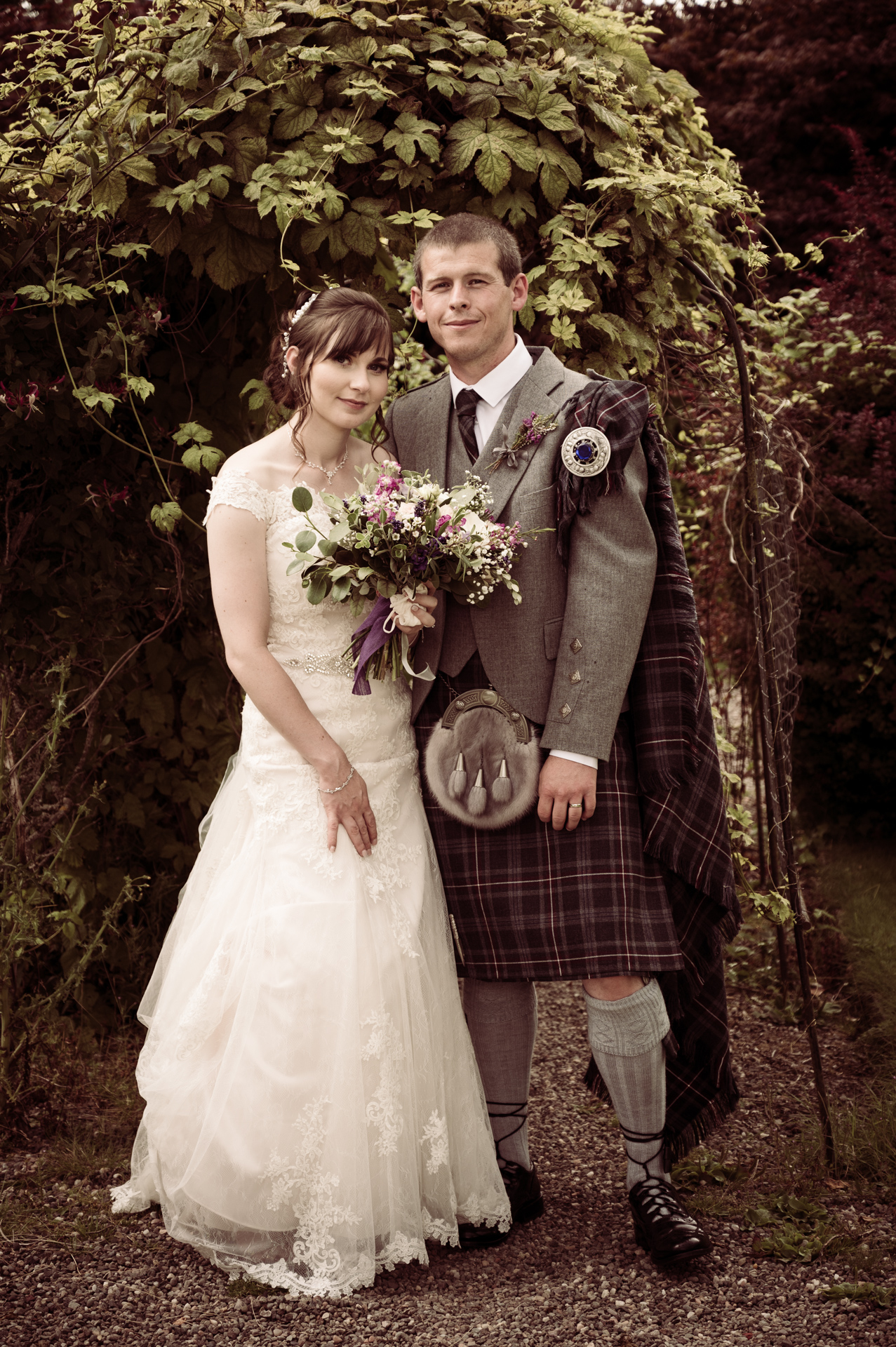 Jenna and Connor Wedding at Crieff Hydro